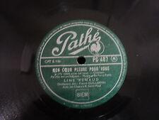 """@ LINE RENAUD 78 TOURS rpm 10"""" FRANCE LE JUPON DE LISON"""