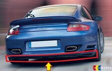 NEW GENUINE PORSCHE 997 TURBO 07-10 REAR BUMPER LOWER BLACK SPOILER