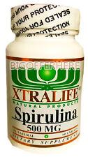 # 1 BEST SPIRULINA 500mg TABLETS 100% NATURAL PROTEIN SOURCE SUPPLEMENT
