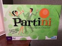 Partini the Party Game with A Delicious Twist Parker Brothers Fun
