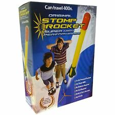 Super Stomp Rocket Kit Air Powered Rocket With Accessory Pack