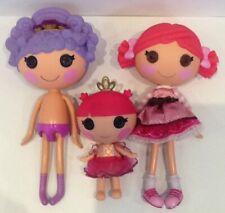 Lalaloopsy Doll Bundle. 2 Large & 1 Small.