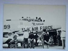 AVIANO US AIR FORCE aereo aircraft airplane aviazione vintage foto 34