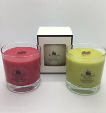 Handmade WOODWICK natural Soy Wax Scented Candle. Christmas Scents . Mulled Wine