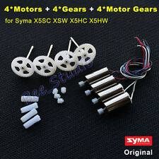 Original CW CCW Motor Engine+Gear Wheel set Syma X5SC X5SW X5HC X5HW Spare Parts