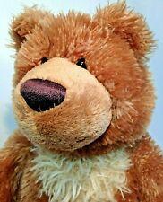"""Gund Slumbers Teddy Bear Stuffed Animal Brown Shaggy Soft Toy 15"""" -320709"""