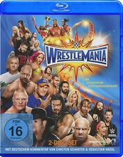 WWE Wrestlemania 33 XXXIII + Hall Of Fame Cermeony 2x BLU-RAY DEUTSCH