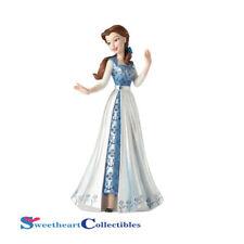 Disney Showcase Couture De Force Belle in Blue Dress 4055793 New 2017
