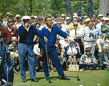 ARNOLD PALMER BEN HOGAN 1966 MASTERS GOLF 8x10 GLOSSY PHOTO