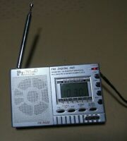 Radio Transistor Portable Palito PA-6622 digital reloj alarma