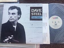 """DAVE STEEL BITTER STREET VINYL LP RECORD 12"""" w/INNER"""