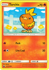 POKEMON 4X TORCHIC 26/168 COMMON NM CARD  CELESTIAL STORM