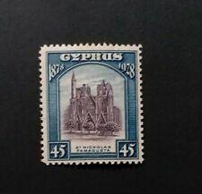 CYPRUS 1928 45pi  SG 131 Sc 122 MLH