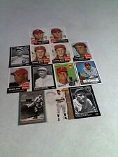 Philadelphia Phillies Cards:  Lot of 27 cards.....17 DIFFERENT / Baseball