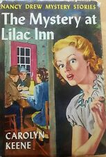 Vintage Nancy Drew #4 The Mystery at the Lilac Inn with Dust Jacket