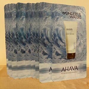 10 NEW AHAVA Deadsea Water Mineral Hand Cream 0.14 oz / 4 ml Each, TOTAL 1.4 oz