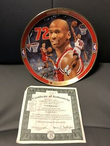 Michael Jordan Return To Greatness Collector's Plate. by Glen Green NIB COA