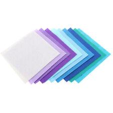 40pcs/lot Fabric 1mm Thickness Polyester Felt Bundle Home Decor Square US Stock