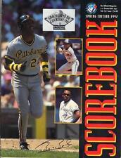 Toronto Blue Jays - Pittsburgh Pirates 1992 Official Program Barry Bonds