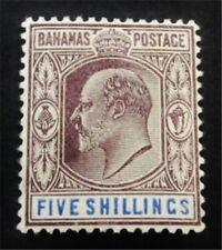 nystamps British Bahamas Stamp # 42 Mint Og H $90 J15y2034