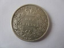 More details for 1  silver guilder 1836  british guiana   very rare !!!!