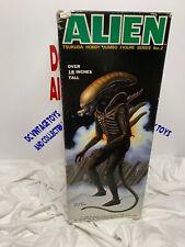 """Vintage Tsukuda 18"""" Alien 1984 Hobby Jumbo Figure Series No. 2 Unused"""