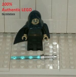 LEGO Barriss Offee + Lightsaber NEW Authentic Star Wars 75206 Minifigure