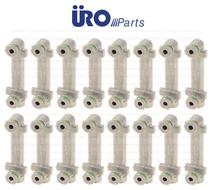 Camshaft Oiler Connector (Cam Oil Line Fittings) Set of 16 Oilers for Mercedes