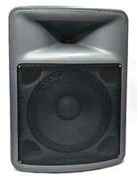 """Peavey PR 15 400 Watt 15"""" Two-Way PA Speaker Monitor Loudspeaker Tested Working"""