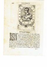 1666 Crasso Ritratto: Virginio Cesarini (Roma 1595 – 1624) Poeta Italiano