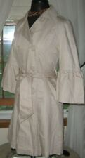 Atmosphere Womens Coat Belted Light Weight Cotton Jacket Trench Beige X Small