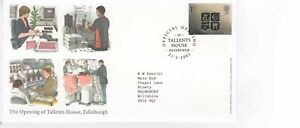 THE OPENING OF TALLENTS HOUSE EDINBRH FIRST DAY COVER 21.3.2001     POST FREE UK