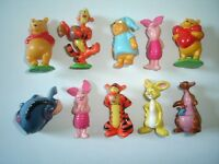 DISNEY WINNIE THE POOH FIGURINES SET 1 ZAINI - FIGURES COLLECTIBLES MINIATURES