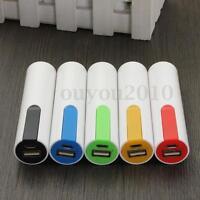 Power Bank Extern USB Ladegerät 18650 Batterie Akku Case Cover für Smartphone 5V