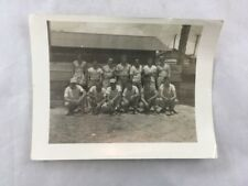 Orig Post WWII Softball Team Photo Atoll US Military Occupation