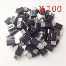 100pcs Mini USB 3.1 Type C Male to Micro USB Female Converter Adapter Connector