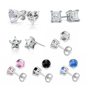Fabulous SWAROVSKI ELEMENTS  STUD EARRINGS 6MM