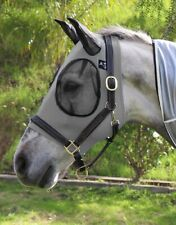 Comfort Fit Fly Mask Charcoal Horse Outdoor Living