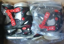 New 365 Cougar Youth Adjustable Ice Hockey Skate 6Y-9Y