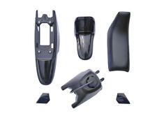 Yamaha PW50 PY50 Plastic Fender + Seat + Fuel Tank Motorcycle Parts(Black) 1 Set