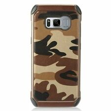 Étuis, housses et coques marron Samsung Galaxy S8 pour téléphone mobile et assistant personnel (PDA) Samsung