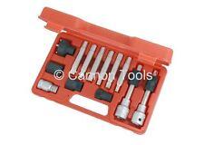 """13pc 1/2"""" Drive Alternator Tool Kit Special Hex Star Spline Bit Set"""