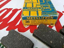 DESTOCKAGE! kit plaquette de frein AVANT 2CV 4 6 DYANE AMI 6 8