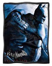 New Batman Arkham Knight Sherpa Plush Throw Gift Blanket Video Game Gotham City
