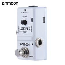 ammoon AP-09 Nano Loop E-Gitarre Effekt Pedal Looper 10 Min Aufnahme G6W6