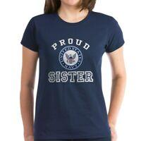 CafePress Proud US Navy Sister Women's Dark T Shirt Womens T-Shirt (23577368)