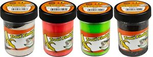 FTM Trout Finder Bait Big Banana schwimmend 10 Farben Fishing Tackle Max