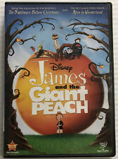 James and the Giant Peach (DVD, 1996, Disney, OOP) Canadian