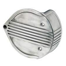 Lowbrow Customs Finned Air Cleaner Cover for S&S Super E/G - Semi Polished