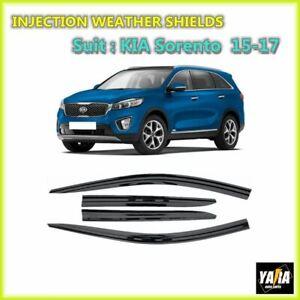 INJ Weather shields Weathershields Window visors for KIA Sorento 2015-2018